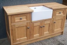 Oak Belfast Sink Base Unit
